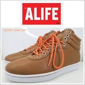 Alife NYC Everybody Mono Hiker Brown/Orange Rare